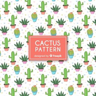 Modello di cactus piatto
