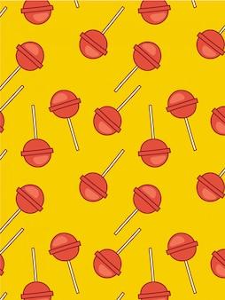Modello di caramelle