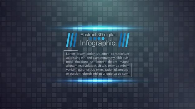 Modello di carta business - idea infografica