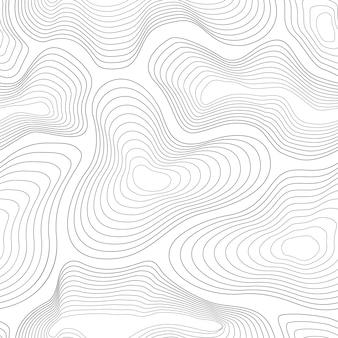 Modello di carta topografica.