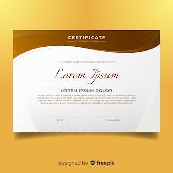 Modello di certificato astratto