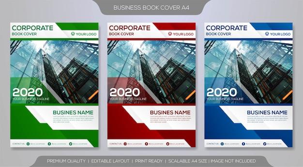 Modello di copertina o volantino aziendale