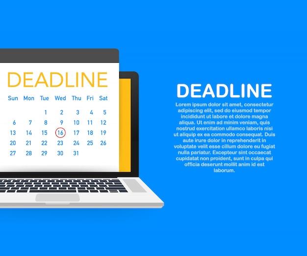 Modello di date e scadenze