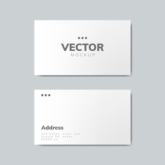 Modello di design biglietto da visita