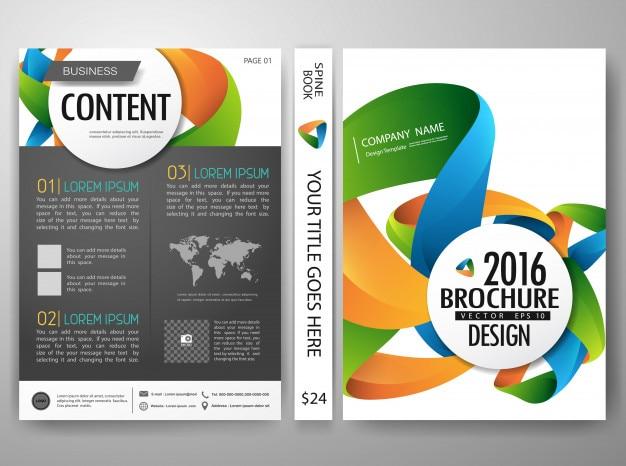 Modello di design del portfolio