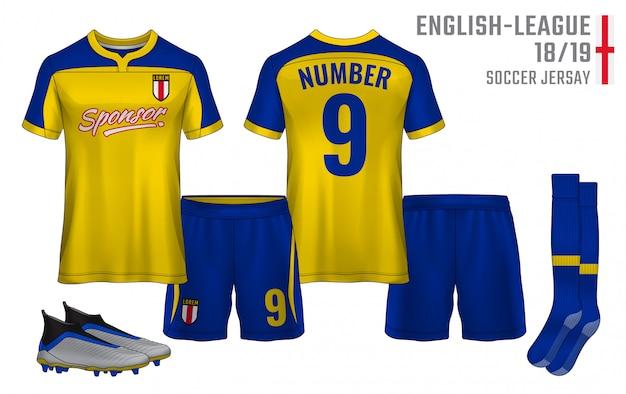 Modello di design sportivo t-shirt