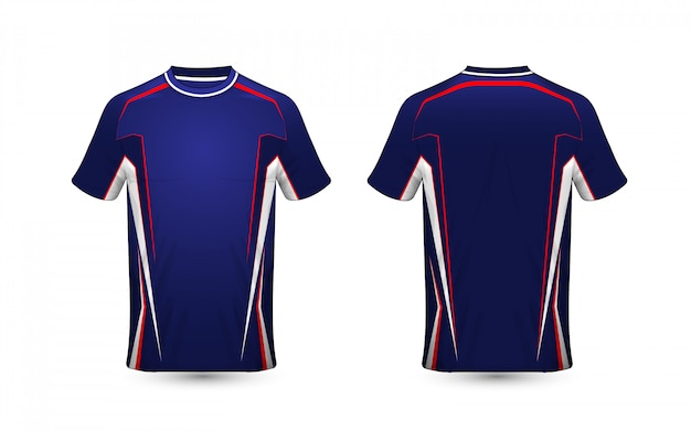 Modello di design t-shirt layout e-sport