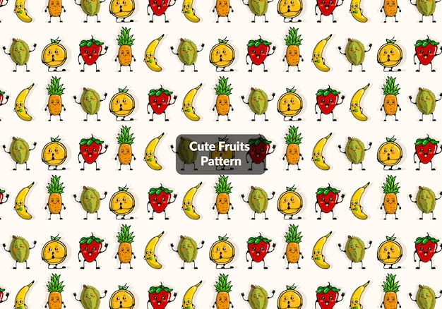 Modello di frutti carino
