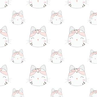 Modello di gatto carino