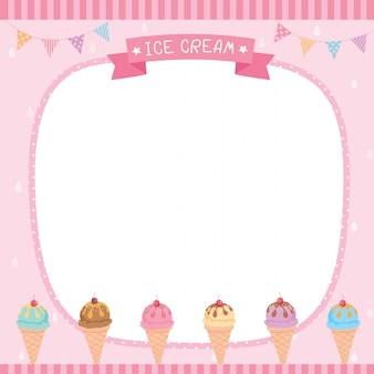 Modello di gelato