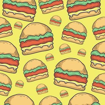 Modello di hamburger