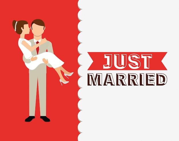Modello di invito di nozze