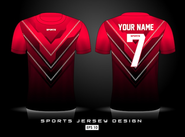Modello di jersey sportivo