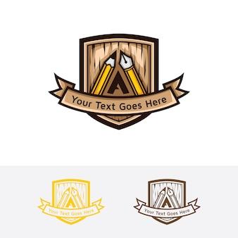 Modello di logo degli artigiani