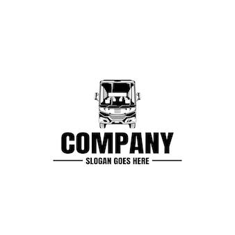 Modello di logo del veicolo. icona auto. affitto, riparazione, garage.