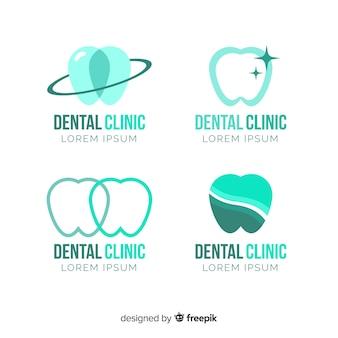 Modello di logo della clinica dentale