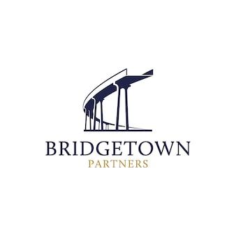 Modello di logo di brigetown