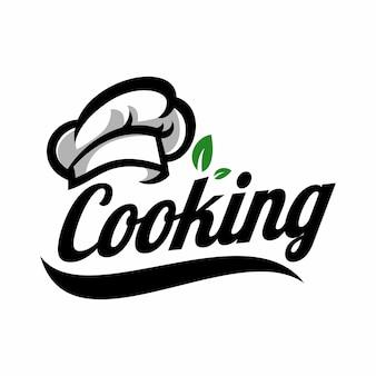 Modello di logo di cottura