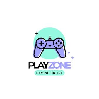 Modello di logo di gioco