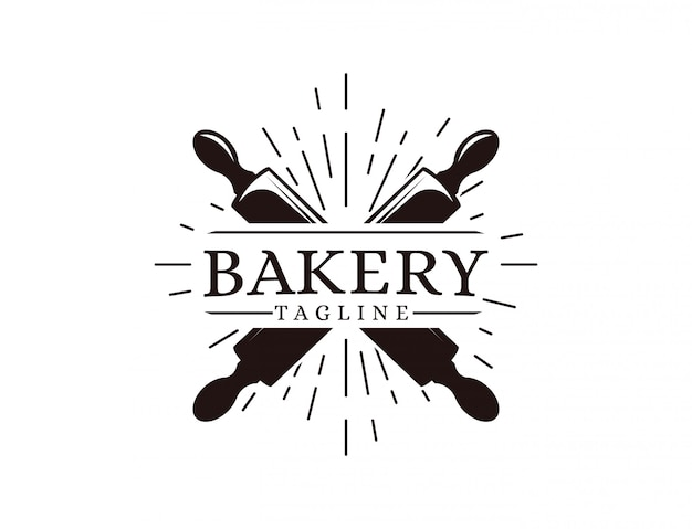 Modello di logo di panetteria