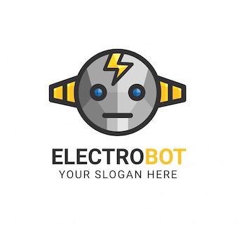 Modello di logo electrobot