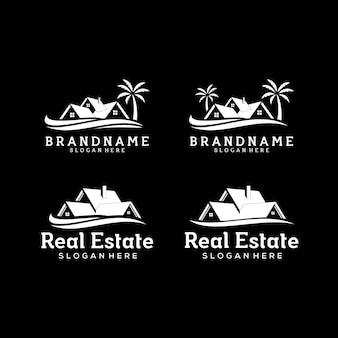 Modello di logo immobiliare