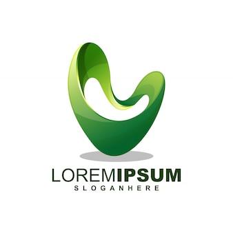 Modello di logo lettera m