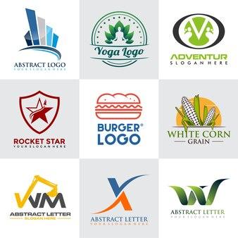 Modello di logo moderno e minimalista
