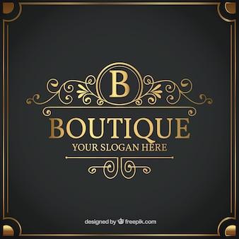 Modello di logo vintage e di lusso