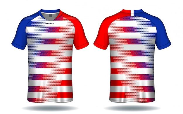 Modello di maglia da calcio