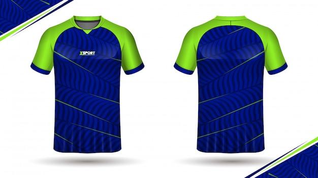 Modello di maglia di calcio