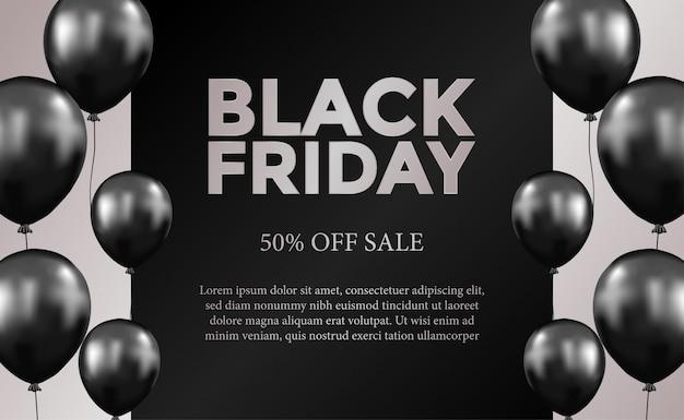 Modello di offerta venerdì nero di vendita