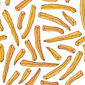Modello di patatine fritte