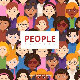 Modello di persone diverse