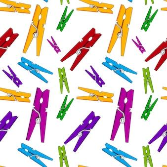 Modello di pin clothesline senza soluzione di continuità