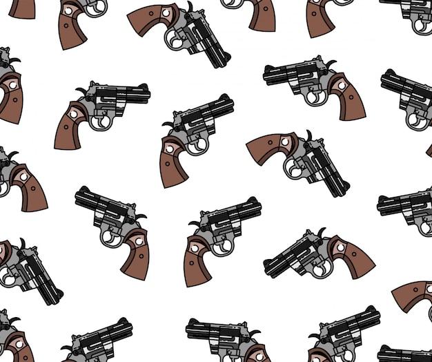 Modello di pistola senza soluzione di continuità