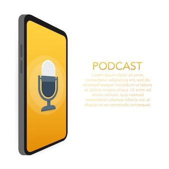 Modello di podcast