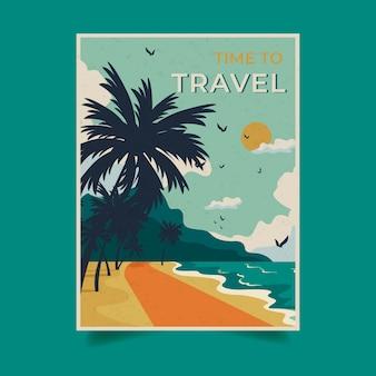 Modello di poster di viaggio
