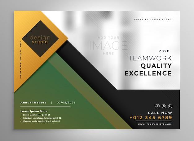 Modello di presentazione brochure creativa