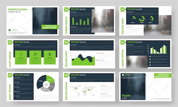 Modello di presentazione del settore aziendale