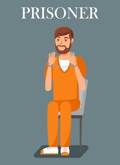Modello di prigioniero, condannato