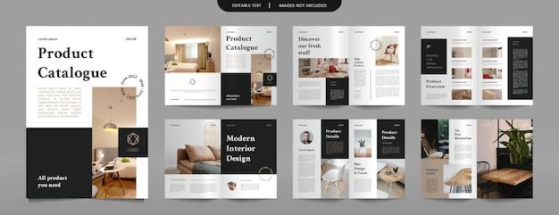 Modello di progettazione del catalogo dei prodotti dell'azienda