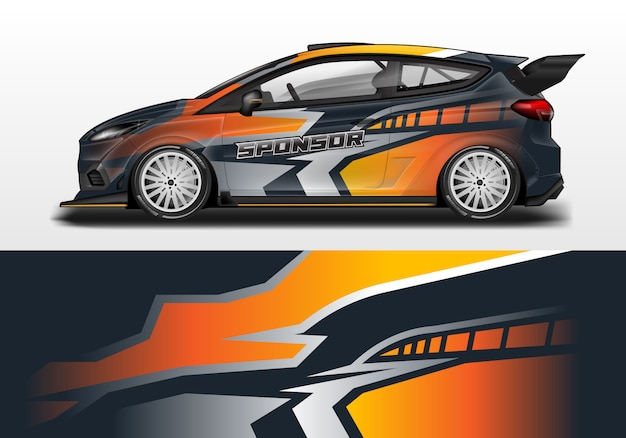 Modello di progettazione dell'involucro dell'automobile e stampa pronta