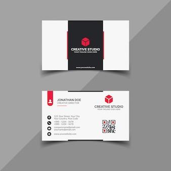 Modello di progettazione di biglietti da visita professionali