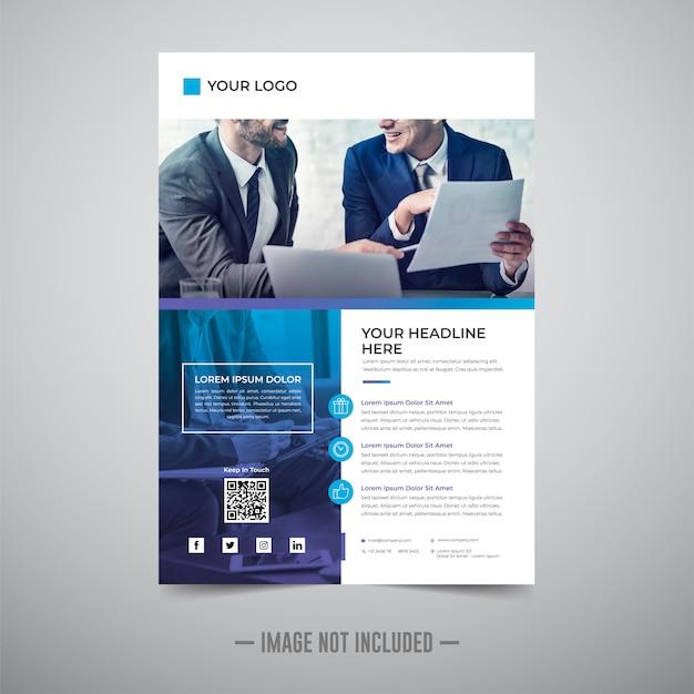 Modello di progettazione di business flyer