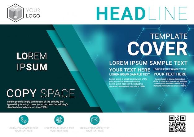 Modello di progettazione di layout di presentazione aziendale.