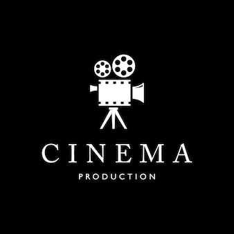 Modello di progettazione di logo di cinema