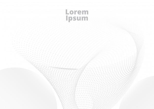 Modello di semitono bianco grigio