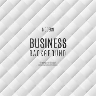 Modello di sfondo bianco business