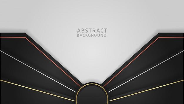Modello di sfondo dinamico gradiente astratto